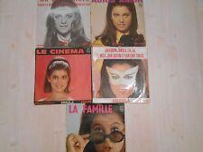 Vinyles, Lots Sheila X5