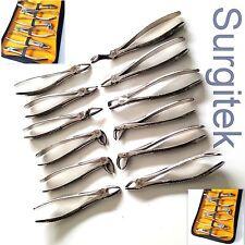 12 un. Conjunto de Forceps de extracción dental-Herramienta de cirugía oral Alicates de extracción dental