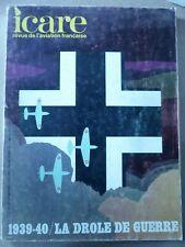 ICARE AVIATION FRANCAISE 53 1939-1940 DROLE DE GUERRE AMIOT 143 BLOCH MUREAUX