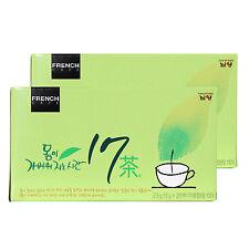 Korean Tea Herb Tea [2 Box / 50 Tea Bags] Healthy and Diet Food Made in Korea
