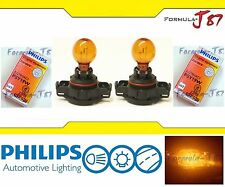 Philips PSY19W 12275 Amber 19W Two Bulbs Light Rear Turn Signal Replacement OE