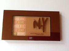 (paquete de 3) Maybelline N.Y ROSTRO Studio ladrillo BRONZER 7g-01 rubias