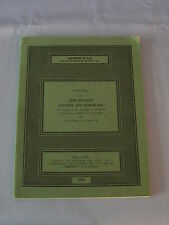 Vintage Sotheby English Pottery & Porcelain Catalog With Price List October 1968