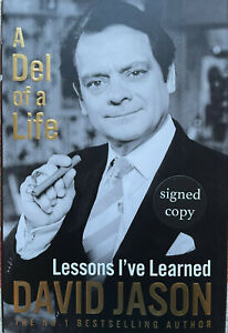 David Jason Autograph-Del Of a Life-Only Fools and Horses-Signed Hardback Book 2