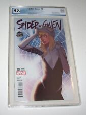 Spider-Gwen #1 - Limited Edition Comix variant - PGX NM/MT 9.8