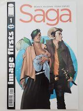 SAGA #1 IMAGE FIRSTS SPECIAL EDITION (2014) IMAGE COMICS! BRIAN VAUGHAN! NM