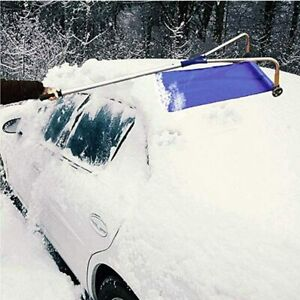 long roof snow removal tool Oxford cloth snow removal adjustable detachable