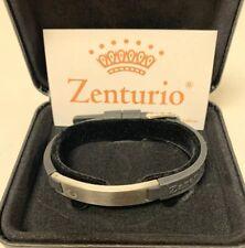 Zenturio Limited Titanium Rose Edition 10mm Exclusive Magnet Ion Health Bracelet
