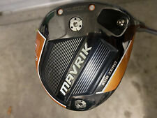 New listing GRH Callaway Mavrik Subzero 10.5 Driver tour ad-gt 7x - tour adaptor green dot