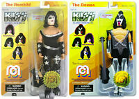 "Mego KISS 2018 Gene Simmons Paul Stanley Numbered Limited Ed. Figure 8"" SET OF 2"