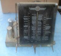 original Imperial 60wk Großsuper Ersatzteil Röhrenradio Chassis