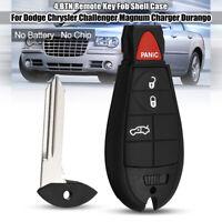 Schlüssel Gehäuse Hülle 4+3 Tasten Für Dodge-Chrysler Challenger Magnum Charger