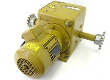 LOCK EWA 61.0510 Elektroantrieb Getriebemotor 3~ 100Nm 4,9U 0,17kW 12361.1005.66