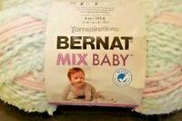 "2 Skein LOT Bernat BABY yarnspirations baby aqua"" Bulky 183 yds 5 bulky"