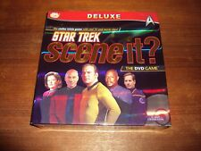 Deluxe Star Trek Scene It? DVD Game by Screen Life (2009) Contents Sealed