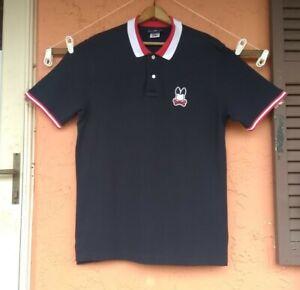 Psycho Bunny Mens Pima Cotton Short Sleeve Polo Shirt  Size 7 XL