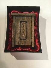 Camphorwood First China Box from Tsinghua Univ. Rare Camphor Wood Display Item