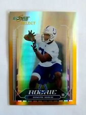 2006 DONRUSS SCORE SELECT GOLD JOSEPH ADDAI RC!! 29/50!! 1/1?? JERSEY NUMBER!!
