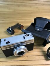 Agfa Isoflash Rapid C 35mm Camera Isitar Lens +cartridges+case Made In Germany#T