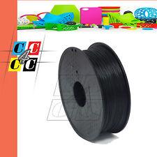 Filamenti PLA | 3 mm | 1 Kg NERO per stampa 3D QUALITA' PREMIUM