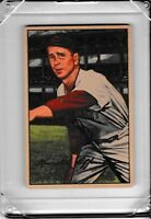 1952 Bowman #55 Ken Raffensberger  Cincinnati Reds Vintage Baseball Card