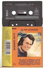 ALAIN BARRIERE cassette K7 tape MA VIE