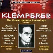 Mozart : Symphonie N°25, Beethoven : Aria Pour Soprano..., Mahler : Lieder..., B