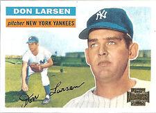 2002 Topps Archives Don Larsen New York Yankees Reprint #332 29 of 200