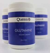 500G 100% PURE Pharmaceutical Grade L-Glutamine Quesa *FREE POSTAGE*