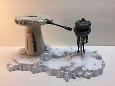 Vintage Star Wars 1980 ESB Hoth Turret and Probot action figure  Playset