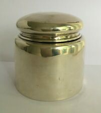 Glass Pot with Sterling Silver Cover and Lid