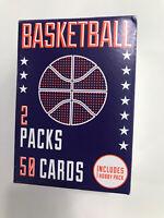 Panini Fairfield Basketball Sealed Box - 2 Packs 50 Random Cards 1 Hobby pak