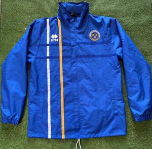 Shrewsbury Town Football Rain Jacket Errea Large