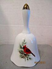 Cardinal Porcelain bell b85
