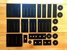 Roland Jupiter 8 Slider and Switch Gasket / Dust Protectors Replacement Set