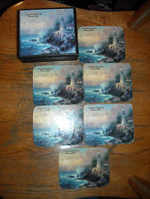 Thomas Kinkade Painter Of Light Coaster Set