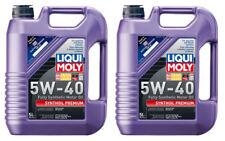 Lubro Moly Synthoil High Tech 5W-40 Motor Oil (5 Liter) - 2 Pack LMY2041-2PK