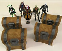 Fortnite Action Figure Lot Weapons Building Blocks Loot Chests