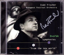 Ivan FISCHER Signiert DVORAK Symphony No.8 & 9 From the New World CD Budapest