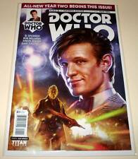 DOCTOR WHO : The ELEVENTH DOCTOR Year Two  # 1 Cover A  Titan Comic 2015  NM
