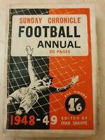 ATHLETIC NEWS FOOTBALL ANNUAL 1948-49 Edited by Ivan Sharpe