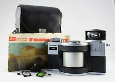 Gorizont russian panoramic 35mm camera with case (USSR)