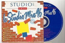 STUDIO MIX 96 l'oreal CD PROMO COMPILATION enigma .. france french card sleeve