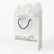 Bridesmaid Wedding Day Gift Bags Favours - SLIGHT SECONDS WITH CREASES