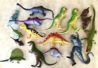 Vintage Dinosaur Collection 15 Toys From The 90s & An Alligator