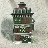 Department 56  Dickens' Village The Flat of Ebenezer Scrooge 5578-5