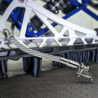 Snowmobile Ice Scratchers Reverse Compatible Carbide Tip Scratcher Steel