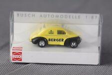 """Busch 46514 (h0, 1:87) - Renault 4cv, """"Berger"""" jaune-article NEUF"""