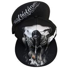 David Gonzalez Dga Chiefin Native American Tattoo Skater Punk Snapback Hat Cap