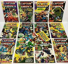 Captain America #119,120,121,122,123,124,125,126,127,128,129,133,134 (13 comics)